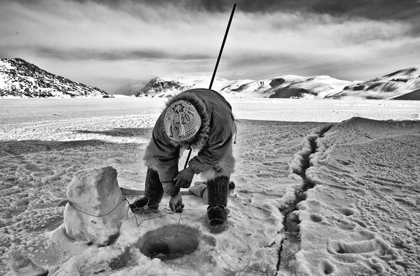 Geslin Philippe - Sur les traces des derniers chasseurs inuits du Groenland